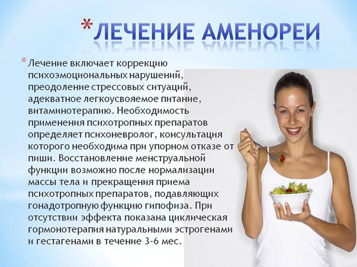 лечение амонереи