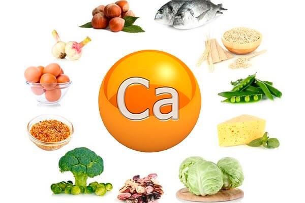 какие продукты содержат кальций