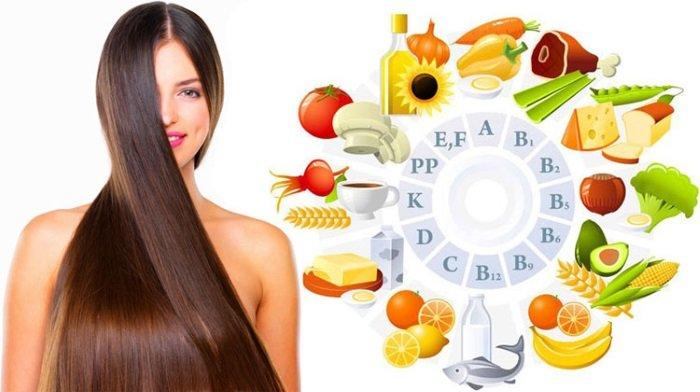 витамины для роста волос на голове