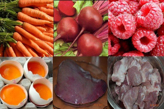 Как повысить гемоглобин быстро народные средства и какие продукты и фрукты повышают
